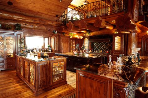 log cabin awesome traditional kitchen dallas