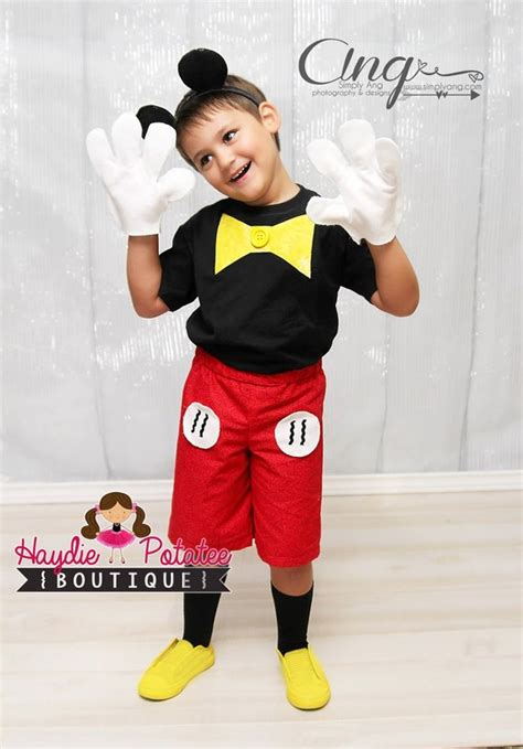 Items similar to Boys Mickey Mouse Costume-mickey mouse outfit - mickey Birthday -Baby Boys ...