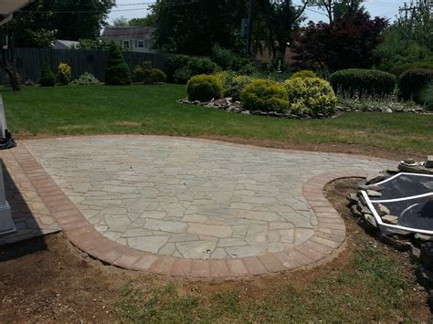 pavers flagstone life time pavers flagstone paver patio in bowie md