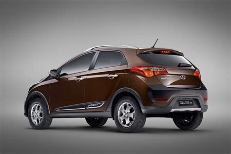 New Hyundai Hb20x Crossover Ready For Brazil Photos And