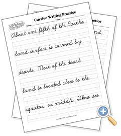 best 25 cursive handwriting practice ideas on