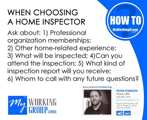 what to ask for after a home inspection when choosing a home inspector ask about 1 professional organization memberships 2 other