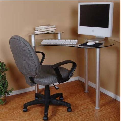 glass corner computer desk rta tier one designs clear glass corner computer desk with