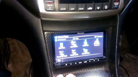 pioneer zbh double din deck   tsx youtube