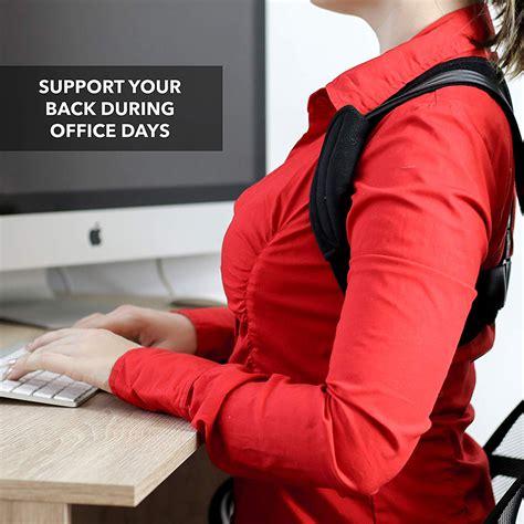 Upper Back Posture Corrector Clavicle Support Belt Back ...