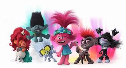 Branch Trolls Tour Troll Characters Poppy Toys