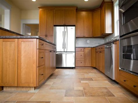 kitchen wood tile floor choose the best flooring for your kitchen hgtv 6571