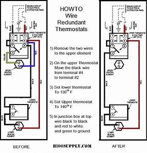 Reset Water Heater  No Hot Water   Bradford White  Water Tank  Drain  Plumber