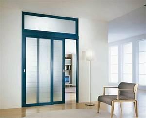 Moderniser Une Porte Intérieure Vitrée : la porte coulissante 19 exemples de portes cools et lissantes ~ Melissatoandfro.com Idées de Décoration