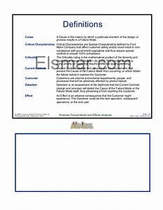 Design  U0026 Process Fmea Manual