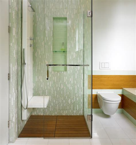 tile spacer bathroom contemporary with textured tile