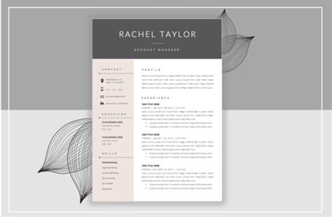 Resume Cover Page Template by 14 Resume Cover Pages Psd Vector Eps Pdf