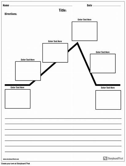 Plot Diagram Paragraph Worksheet Templates Storyboard Example