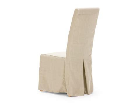housse de chaise hauteur dossier 60 cm housse de chaise en tissu beige pour chaise montreal