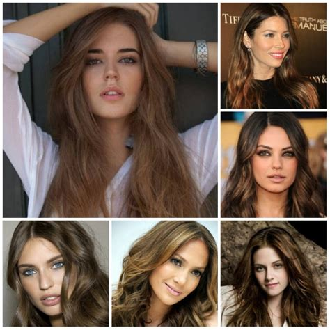 Brown Shades Of Hair by Best Hair Colors For Your Skin Tone Womans Vibe