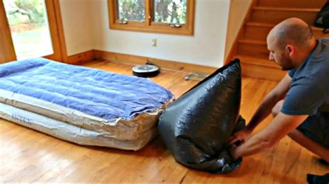 how to inflate air mattress how to inflate an air mattress with garbage bag