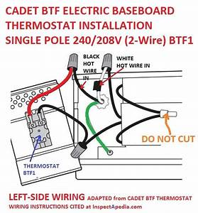 Line Voltage Thermostat Wiring Diagram
