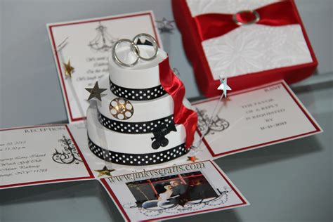 Jinky's Crafts & Designs: Hollywood Themed Wedding Invitations