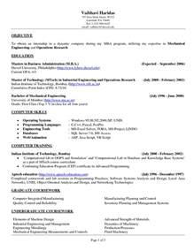 exle resume for college internship resume script