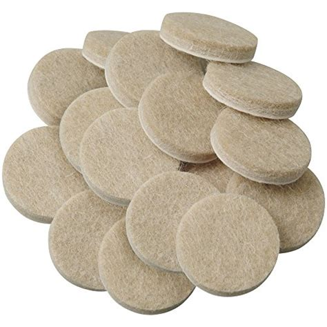 self stick 1 inch furniture felt pads for