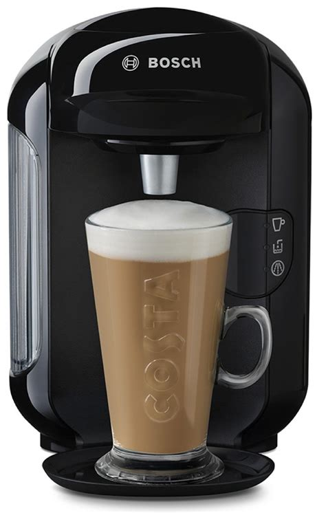 Thanks to their innovative technology, coffee, espresso, latte macchiato & more are always perfectly crafted, just as if they were. Tassimo by Bosch Vivy 2 Pod Coffee Machine - Black | Presents Gifts . com