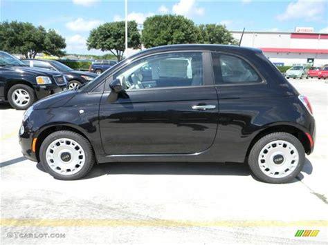 Black Fiat 500 by Nero Black 2012 Fiat 500 Pop Exterior Photo 68958980