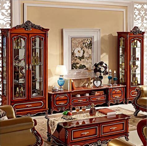 Elegant lcd cabinet design idea for bedroom living room. Antique High Living Room Wooden furniture lcd TV Stand ...