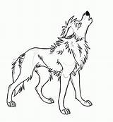 Wolf Howling Coloring Wolves Sketch Draw Drawing State Trade Deviantart Library Clipart Drawings Clip Template sketch template