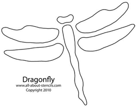 dragonfly template stencils quilting patterns and free stencils