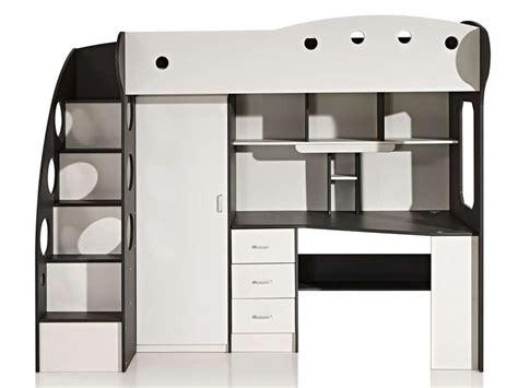 lit mezzanine avec bureau pour ado chambre enfant lit mezzanine lits mezzanines lit