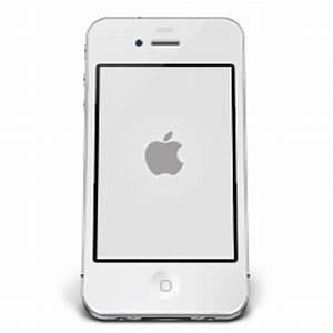 iPhone White Apple Icon | iPhone 4 Iconset | Musett.com