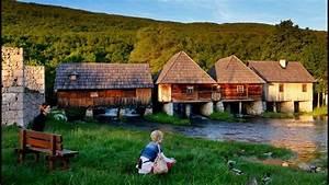 En Croatie  Le Parc National Des Lacs De Plitvice Fascine