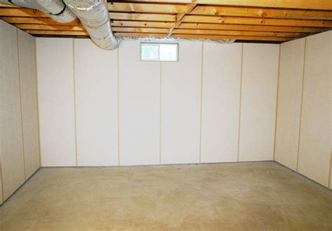 Zenwall Insulated Paneling For Unfinished Basement Walls