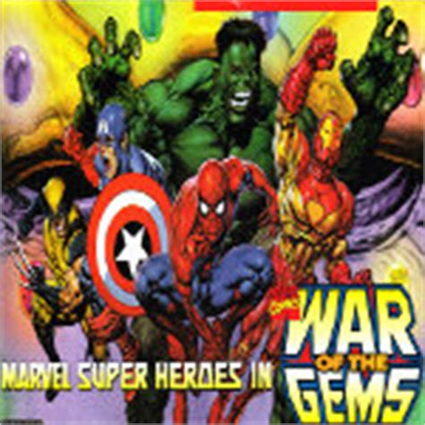 play marvel super heroes war   gems  sneslive