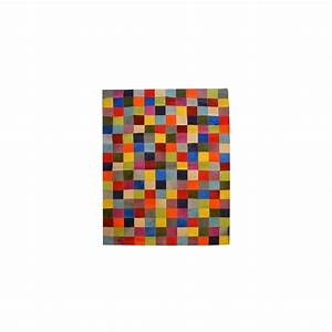 Tapis Cuir Patchwork : tapis patchwork cuir maison design ~ Teatrodelosmanantiales.com Idées de Décoration
