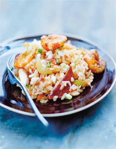 recette riz cuisiné riz jambalaya pour 4 personnes recettes à table