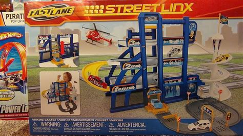 Fast Parking Garage by Fast Linx Parking Garage Playset Unboxing