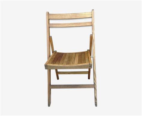 chaise pliante bois vintage veranda styledeviefr