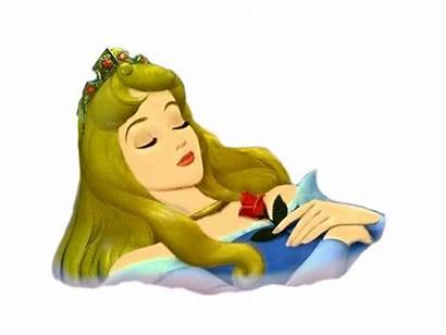 Durmiente Bella Clipart Aurora Cliparts Sleeping Disney
