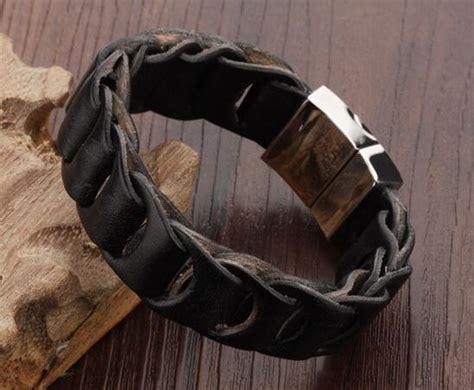 mens leather bracelets designer designer mens leather bracelets personalized designer mens