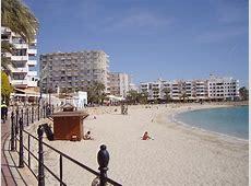 Santa Eulalia Beach Santa Eulalia Ibiza Maps