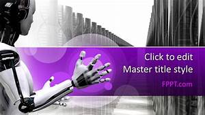 Powerpoint Tmplates Free Robot Powerpoint Template Free Powerpoint Templates