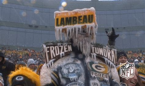 frozen green bay packers gif  nfl find share  giphy