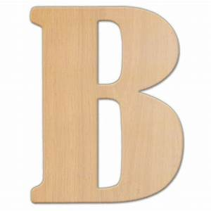 jeff mcwilliams designs 23 in oversized unfinished wood With hardwood letters