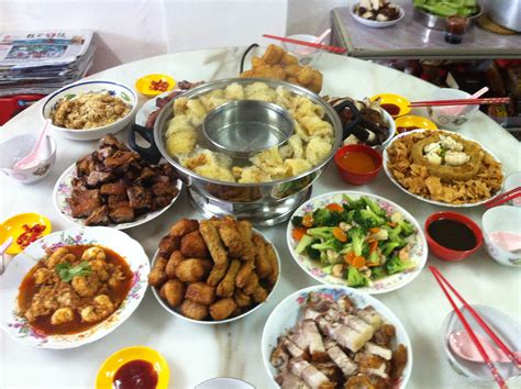 tables cuisines food table display babaimage