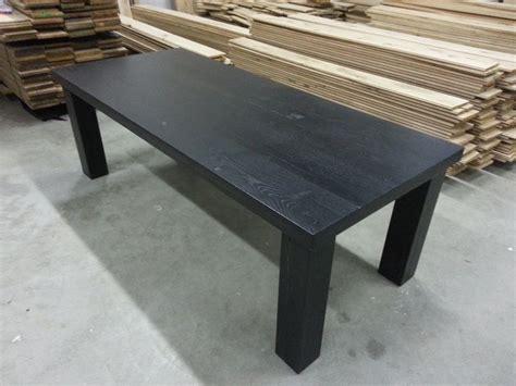 eiken tafel zwart maken tafel zwart hout beste inspiratie voor huis ontwerp