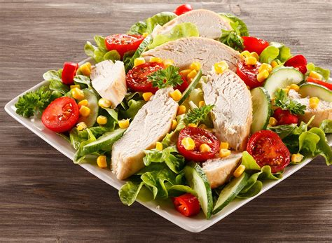 cuisine salade lose weight fast with these fast food salads eat this