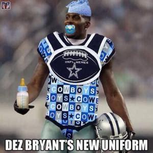 Dez Bryant Memes - uniform jokes kappit