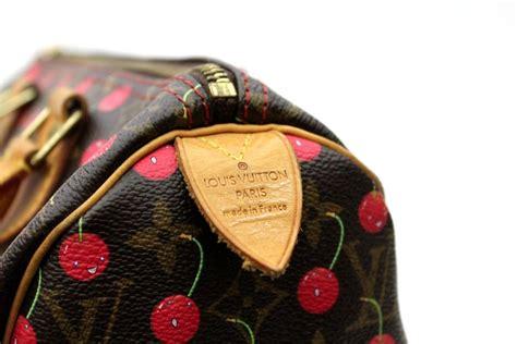 louis vuitton limited edition monogram cherry speedy  bag  stdibs