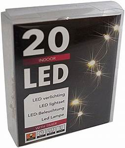 Weihnachtsbeleuchtung Mit Batterie Und Timer : led lichterkette batterie timer 48 leds f r innen und au en elknim ~ Orissabook.com Haus und Dekorationen